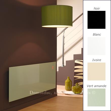 un nouveau radiateur en verre qui va faire parler de lui blog domotelec. Black Bedroom Furniture Sets. Home Design Ideas