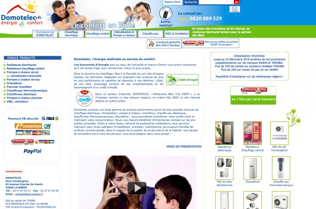 site-domotelec