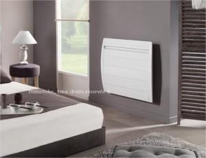 Atlantic Nirvana Digital, radiateur électrique aluminium