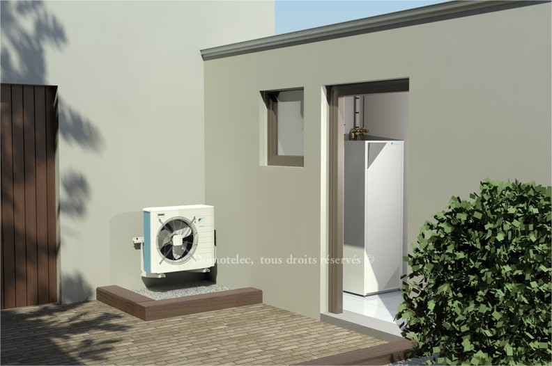 La pompe à chaleur air/eau : une facture de chauffage divisée par 3