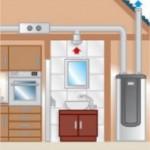 Chauffe-eau thermodynamique sur air extrait + VMC